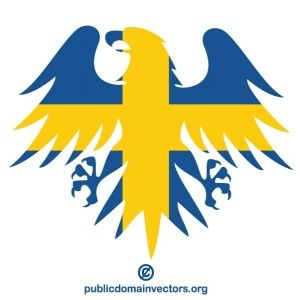 Swedish Flag Symbol Vector Swedish Flag Flag Vector Flag Art