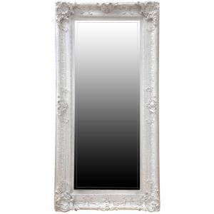 31c4cd7de916 InDesign Interiors Floor Standing Mirror in White Rubbed 264.99 -  www.worldstores.co.