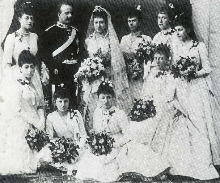 HRH Princess Louise and Earl of Fife wedding