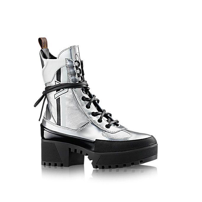 5b22c4e95cf1 Louis Vuitton - Spaceship Desert silver boots