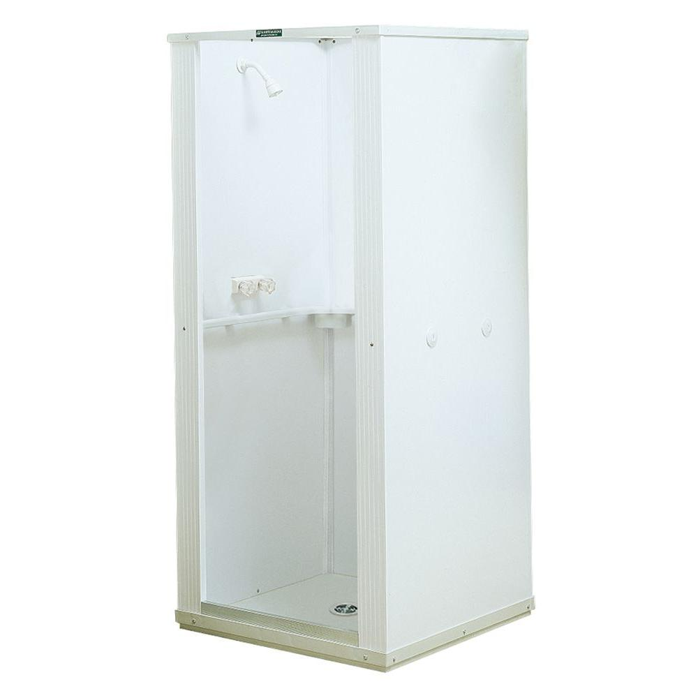 Durastall 32 In X 32 In X 75 In Shower Stall With Standard Base