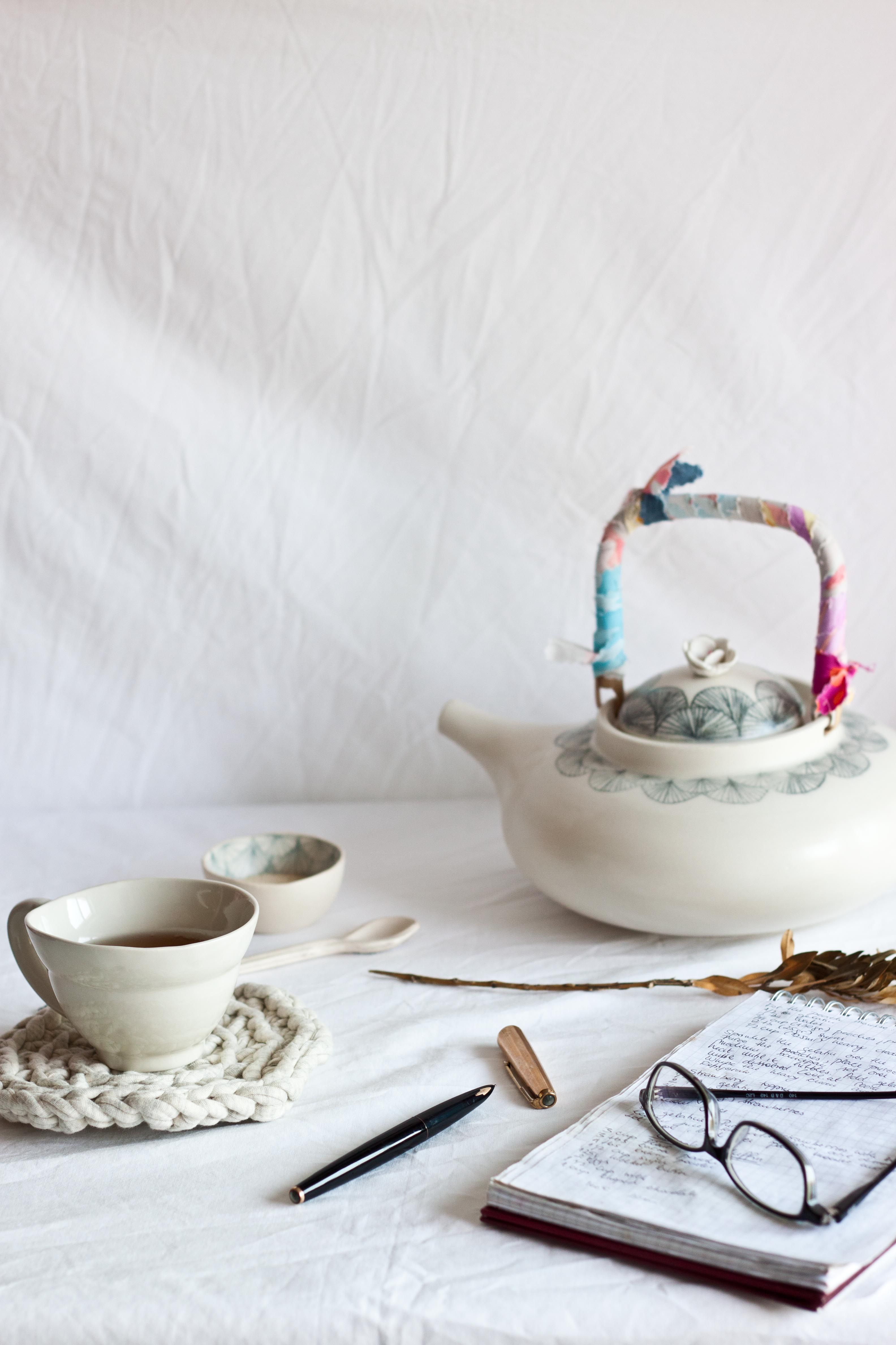 Anna Westerlund Ceramics | Photography and Styling Little Upside Down Cake