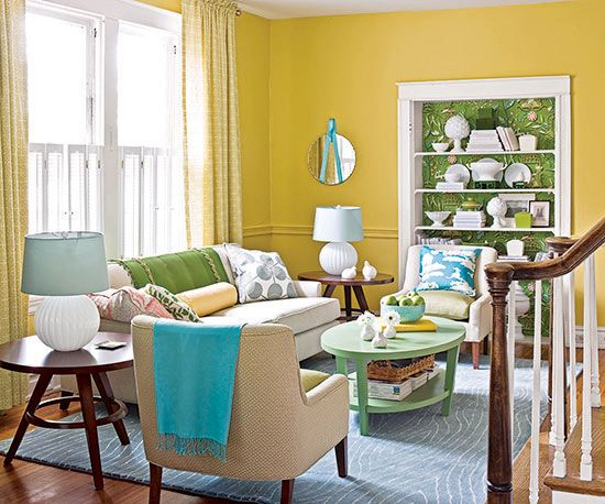 Yellow Paint Colors Yellow Living Room Yellow Walls Living Room Room Color Combination