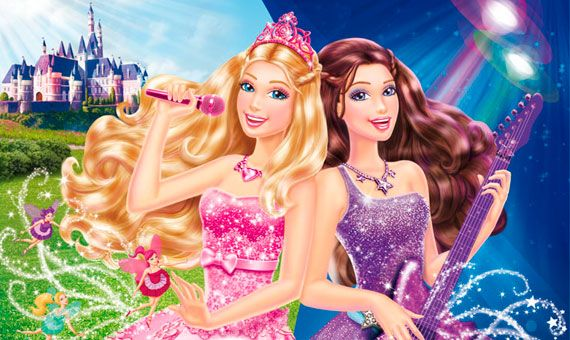 Barbie La Princesa y la Estrella de Pop  personajes  Pinterest