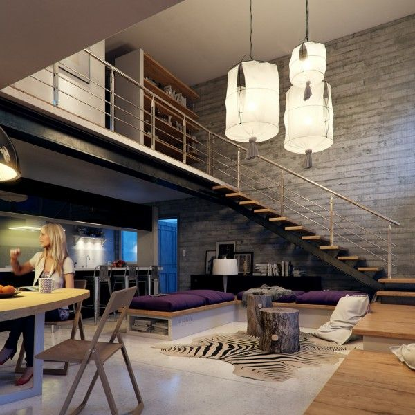 loft rotterdam industrial rock pendant lighting. Kerrie Kelly, ASID, Shares Her Takeaways From Building A Loft To Add More Square Footage Office Space. Check Out Tips, Paired With Moder\u2026 Rotterdam Industrial Rock Pendant Lighting C