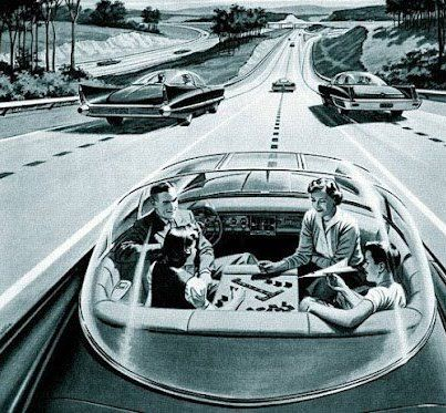 A driver-less car for road trips ... hmmm. Find your car parts at www.breakeryard.com