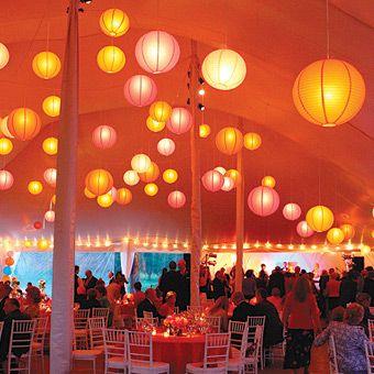 Boules Chinoises Décoration De Salle Plafond Deco Mariage