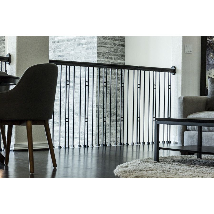 Best Shop House Of Forgings Aalto 44 In Satin Black Wrought 400 x 300
