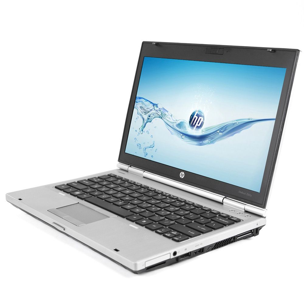 HP EliteBook 2560P 12.5-inch display 2.7GHz Intel Core i7 CPU 8GB RAM 128GB SSD Windows 7 Laptop
