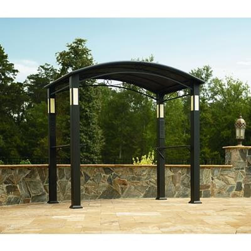 Bbq Pro Gf 15s132x M Grill Gazebo With Integrated Post Speakers And Lights Grill Gazebo Gazebo Garden Gazebo