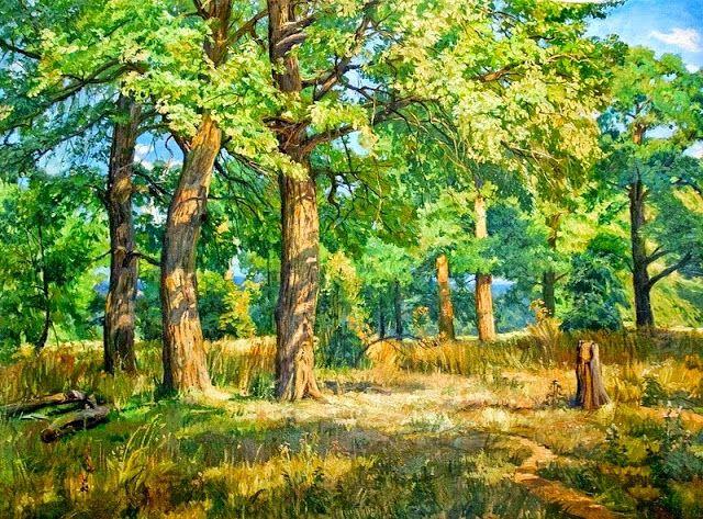Obras del artista Stanislav Brusilov
