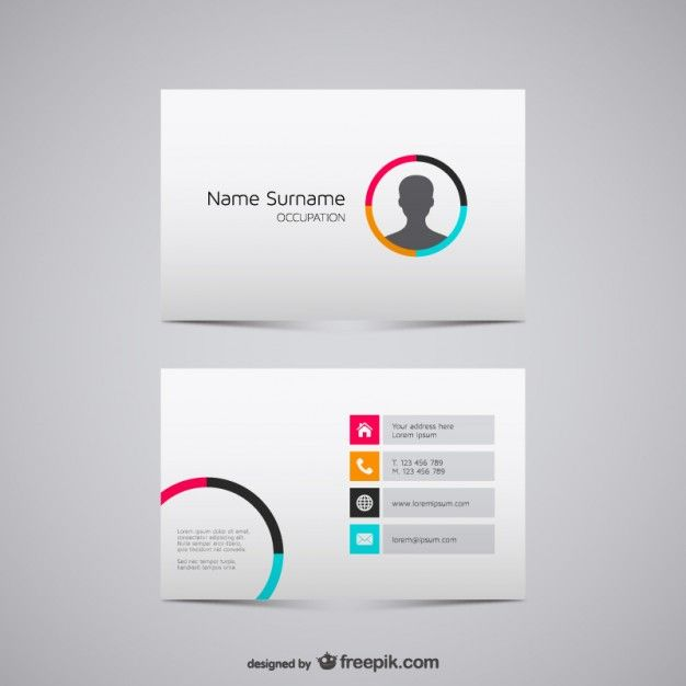 Businesscardvectorgraphicsjpg BUSINESS CARD DESIGN - Business cards examples templates