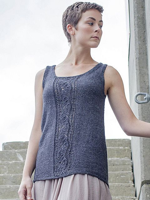 Minami Is A Free Summery Tank Pattern That Uses Just 3 5 Skeins Of