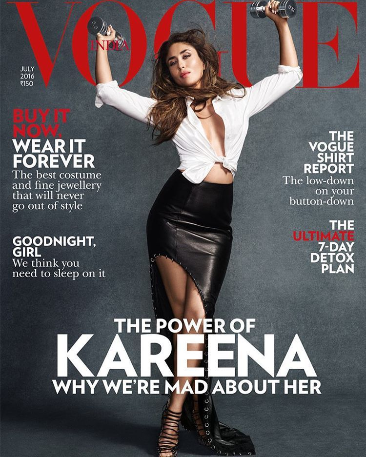Kareena Kapoor For Vogue India Kareena Kapoor Vogue India Vogue Magazine Covers