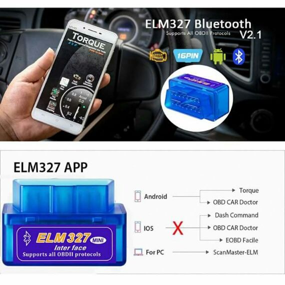 Bluetooth ELM327 is the newly developed wireless scan tool  It