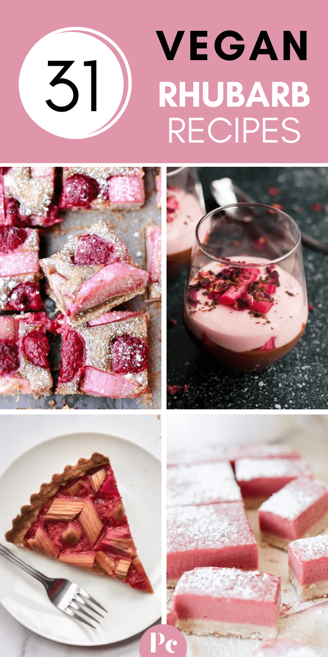 These Vegan Rhubarb Recipes Are The Perfect Desserts For Spring No One Will Be Able To Resist These Deli In 2020 Rhubarb Recipes Spring Recipes Dessert Vegan Desserts
