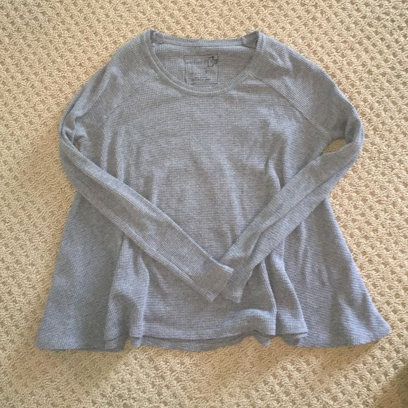 FREE PEOPLE THERMAL Grey, brand new without tags. Free People Tops Tees - Long Sleeve