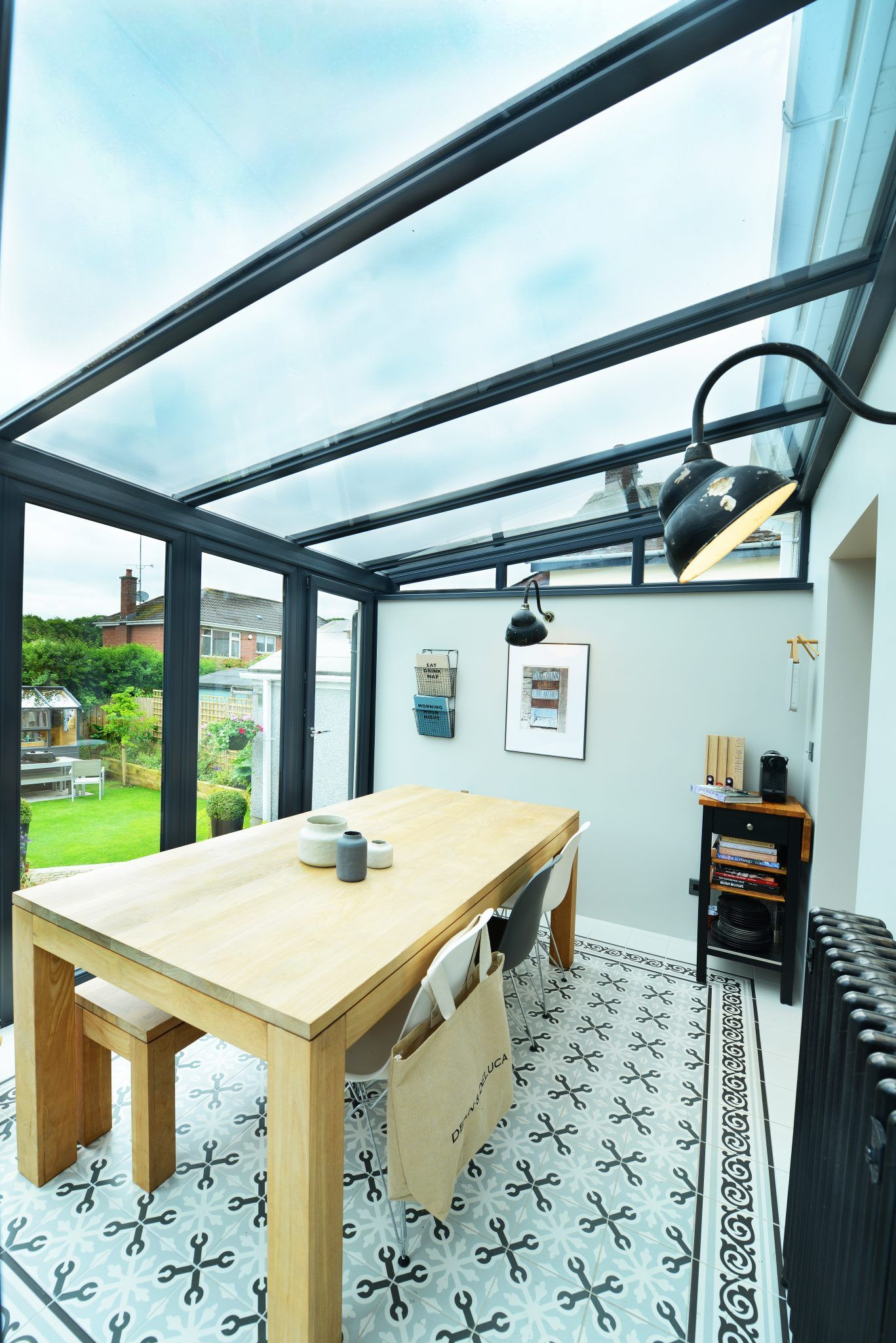 Blog: This blog is the second in a series of six blogs which look at past extension constructions, to find out how the new living areas have shaped the lives of our customers who purchased them.     Three years ago, our customers came to us looking a glass roof extension to use as a dining space. They wanted a conservatory to not only be contemporary but to also blend into the existing style of the property. We all agreed on a 'Glass Lean-To Conservatory '.........