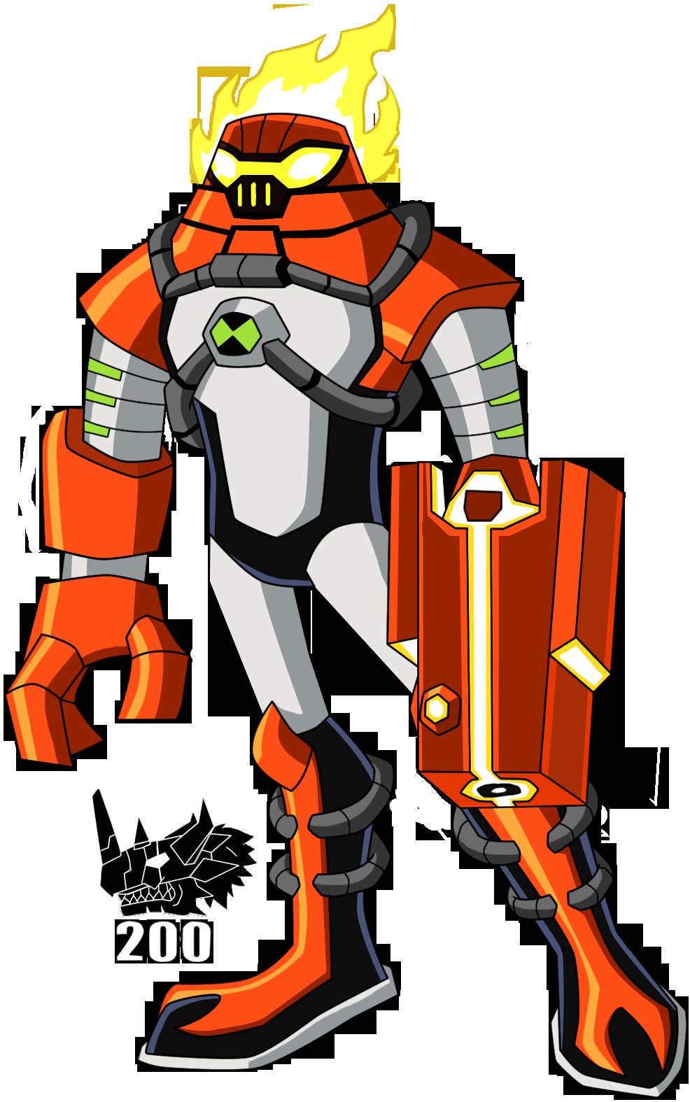 Com Omni Kix Heatblast By Rzgmon200 On Deviantart Ben 10 Comics Ben 10 Omniverse Ben 10