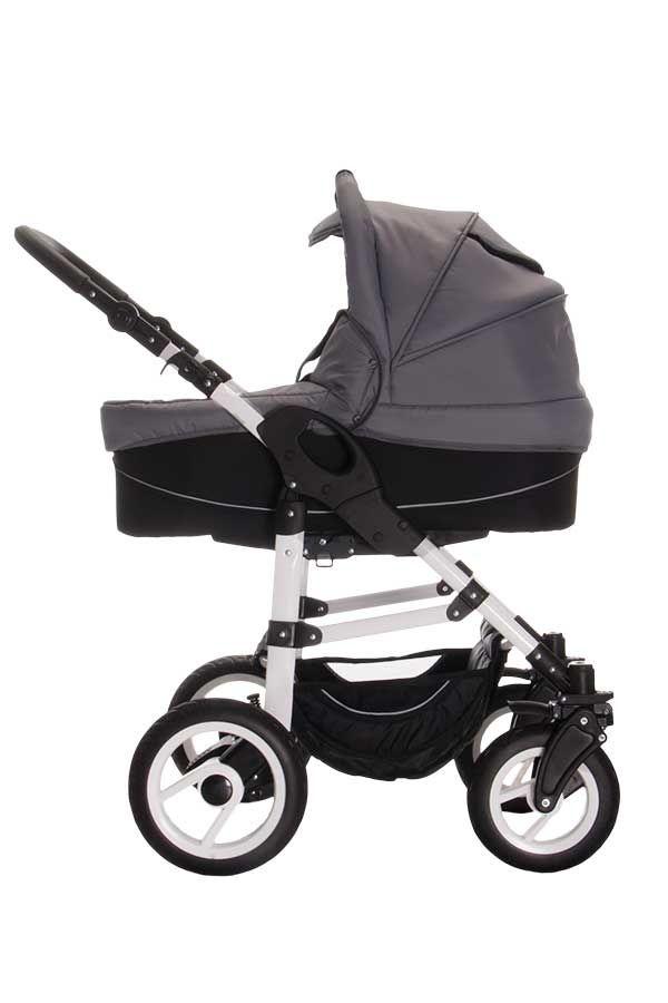 Bebebi Paris | 3 in 1 Kinderwagen Komplettset | Luftreifen | Farbe: Mo, 348,00 €