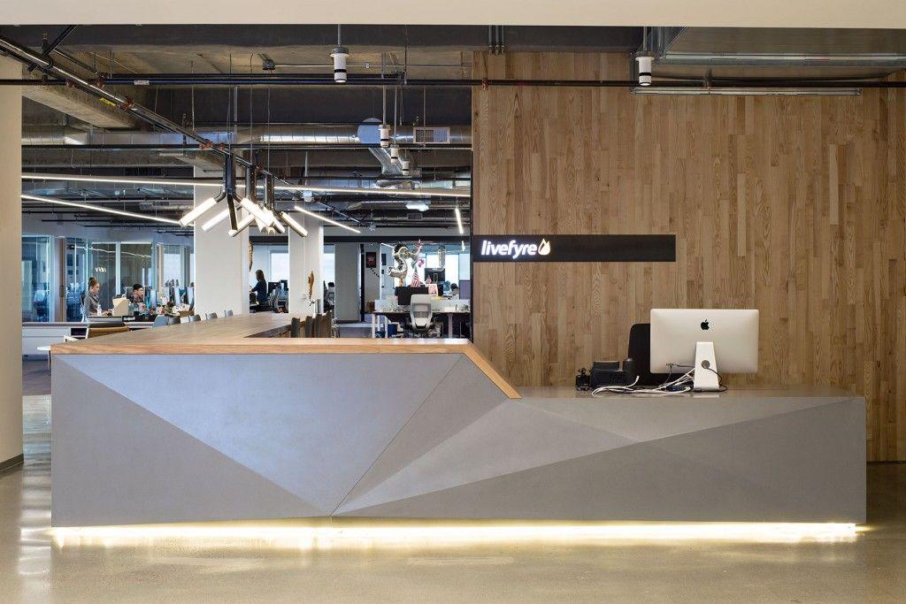 Concrete Reception Desk Livefyre 01 Pharmacy