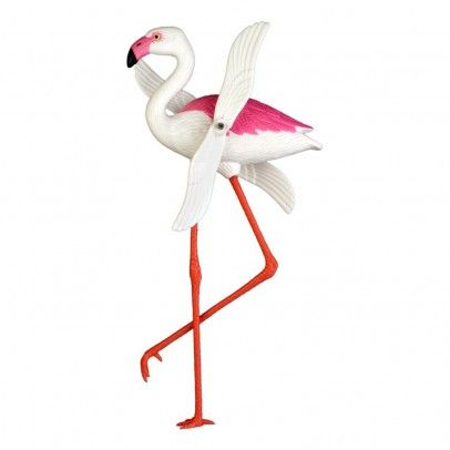 Girouette flamant rose Multicolore  Kitsch Kitchen