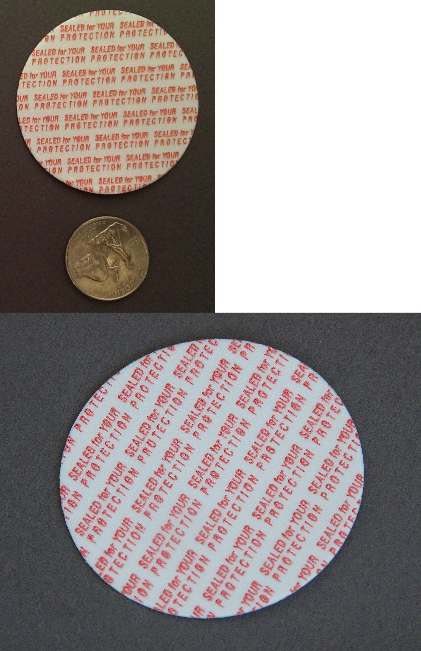 24 mm Press /& Seal Safety Liners made in USA JAR Tamper foam seal 500 bag