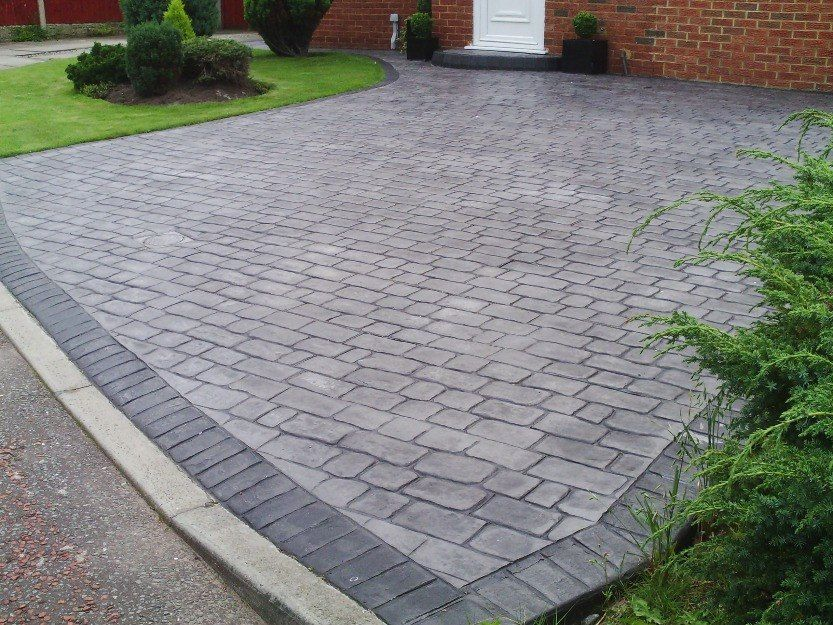 Hormigon estampado pavimento decorativo 18352 - Pavimentos para jardin ...