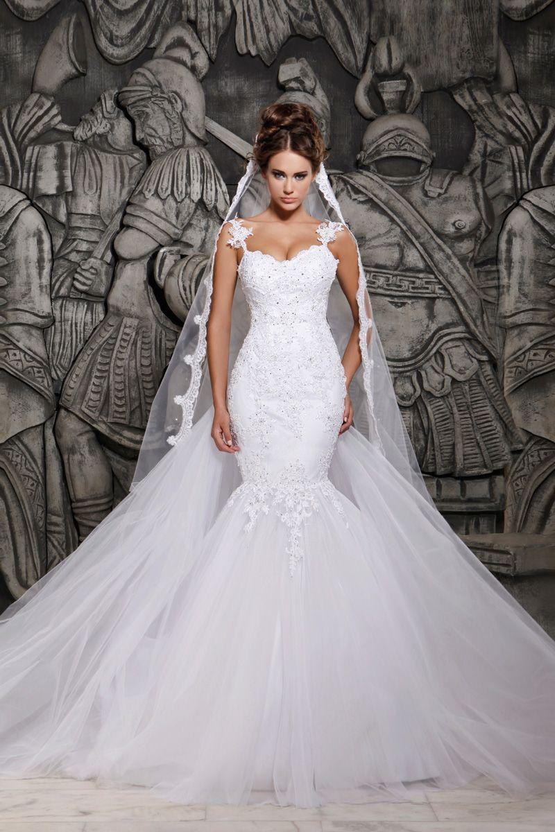f6472cd94 Vestido de Noiva Sereia Cauda Watteau AliExpress - (o link para compra  encontra-se na página do artigo)