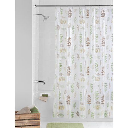 Mainstays Peva Shower Curtain Bathroom Set 13 Piece Size 72 Inch