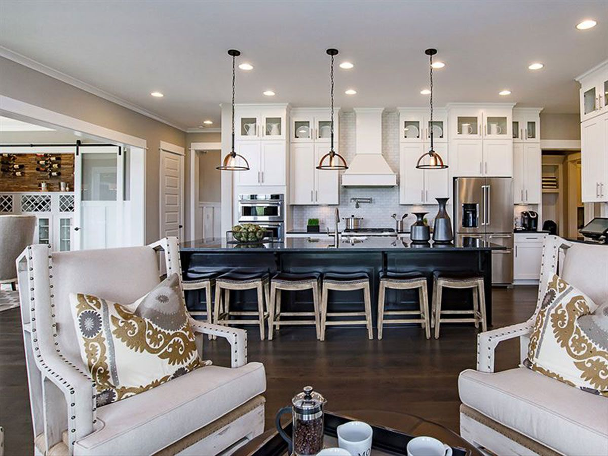 Progress Lighting 5 Stunning Ideas For Your Kitchen Possibilities For Design Calatlantic Homes Home Living Room Spaces New Homes