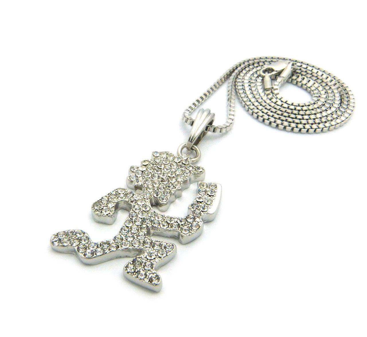 Icp inspired hatchetman hip hop pendant chain silver bling jewelz icp inspired hatchetman hip hop pendant chain silver bling jewelz aloadofball Gallery