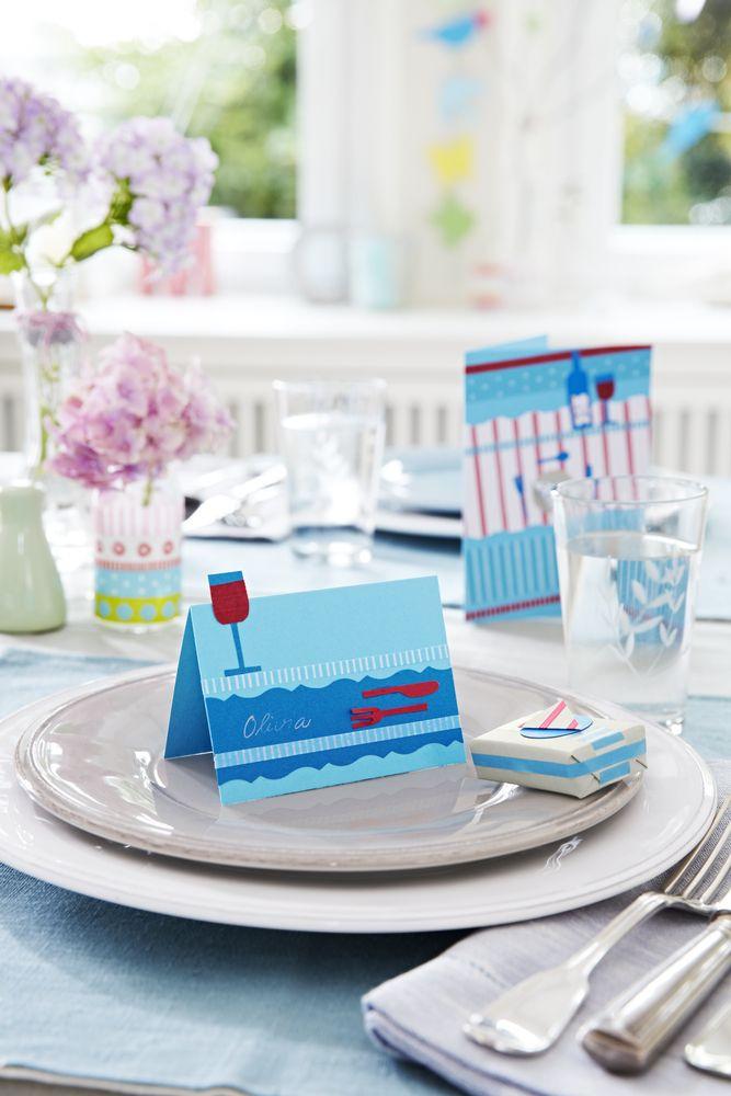 Zum #Basteln von von Tischkarten, #Einladungen oder Grußkarten: 30 Karten für €6,95 bei #Tchibo