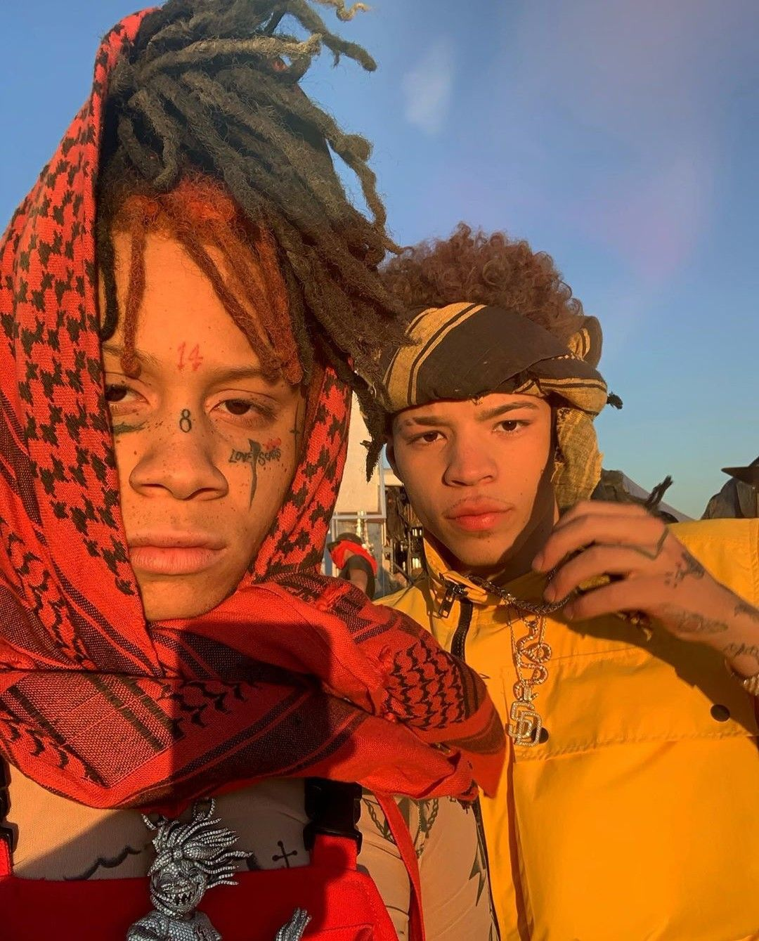 Pin by ⛈ ♡ 𝕃𝕚𝕝 ℚ𝕦𝕖𝕖𝕟 ♡ 🌴 on Trippie redd ️ (With images