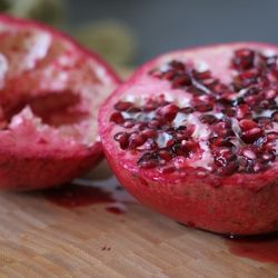 The Art of Eating Pomegranate Seeds