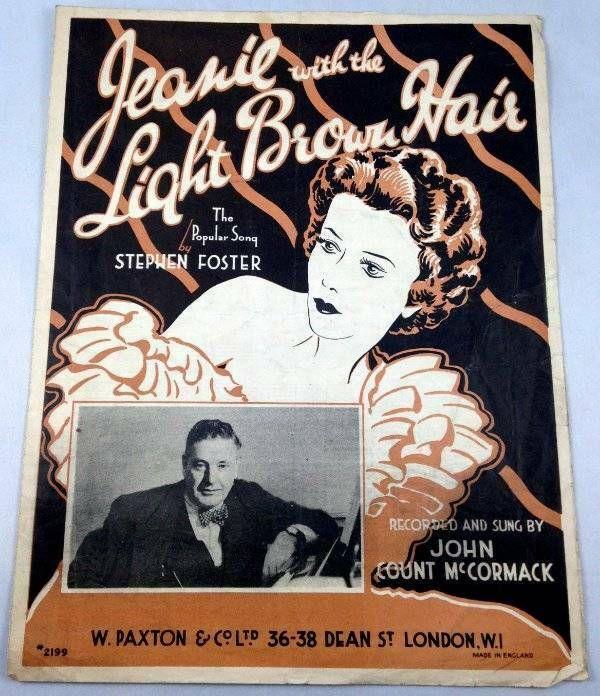 Jeanie Light Brown Hair Stephen Foster