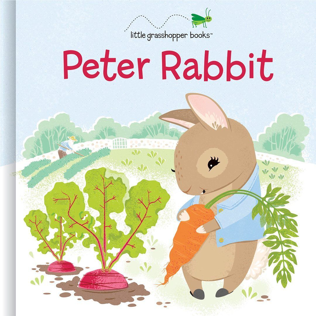 I loved coming up with a new peter rabbit how sweet is