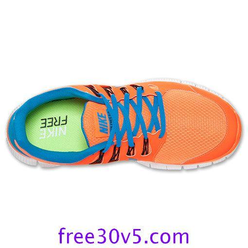 more photos 67c27 9a6dc freerunsstore2013.com for Half off Nike Frees,Nike Free 5.0 Mens Total  Orange Blue Hero 579959 840  Orange  Womens  Sneakers