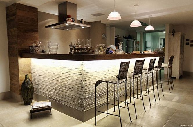 As tendências de decoração de cozinha americana e cozinha gourmet