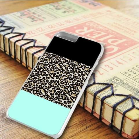 Leopard Color Block iPhone 6 Plus|iPhone 6S Plus Case