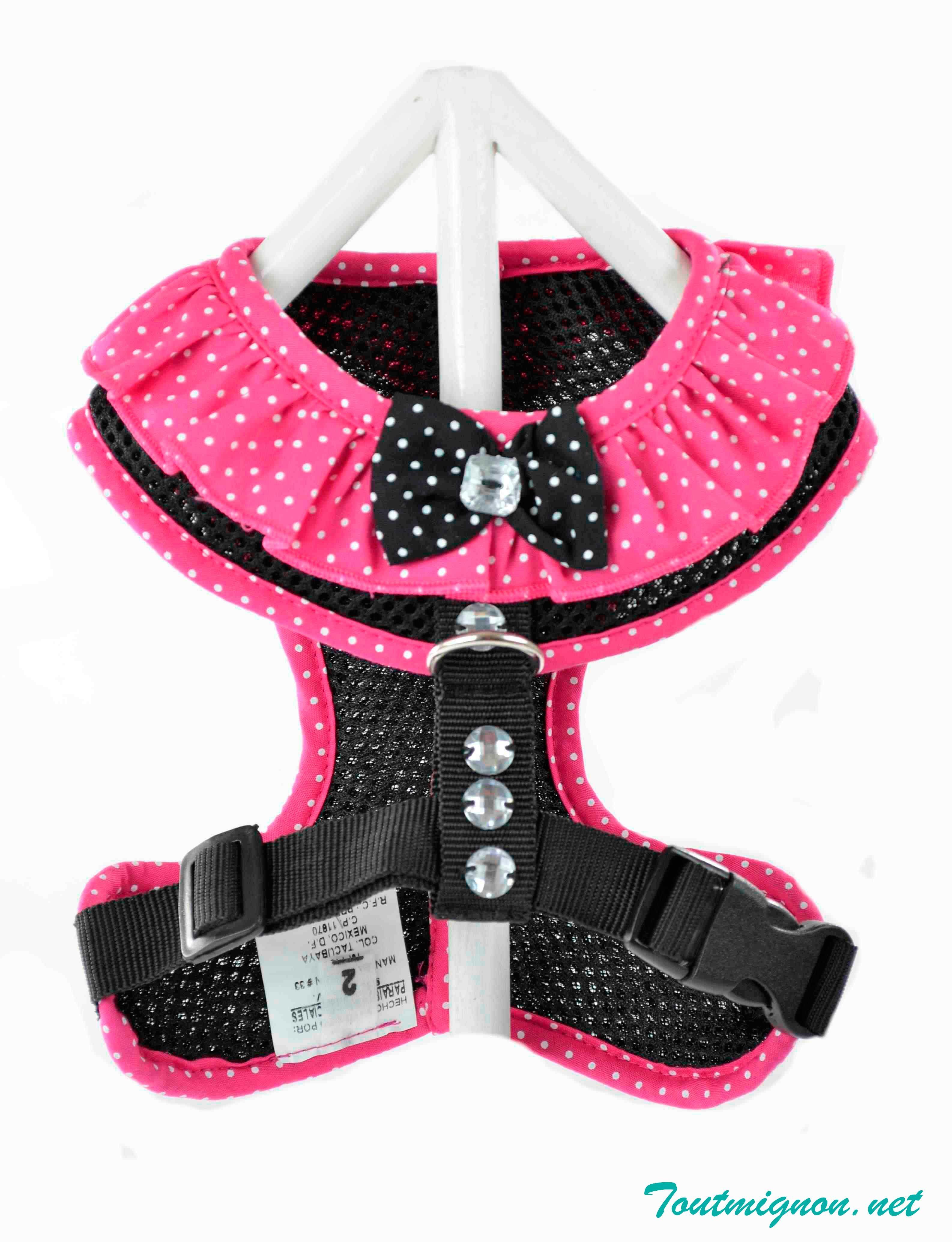 Linda pechera puntos, ropa y accesorios para mascotas. www ...