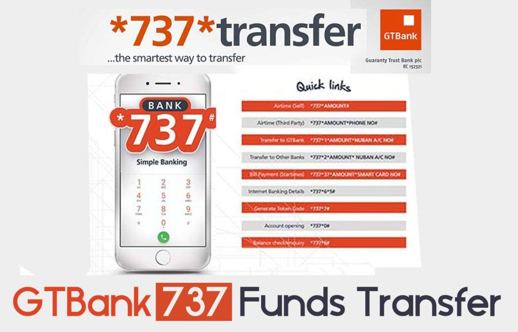 Gtbank 737 Funds Transfer Money Transfer Money