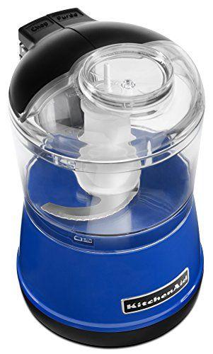 Kitchenaid Kfc3511tb 35 Cup Food Chopper Twilight Blue