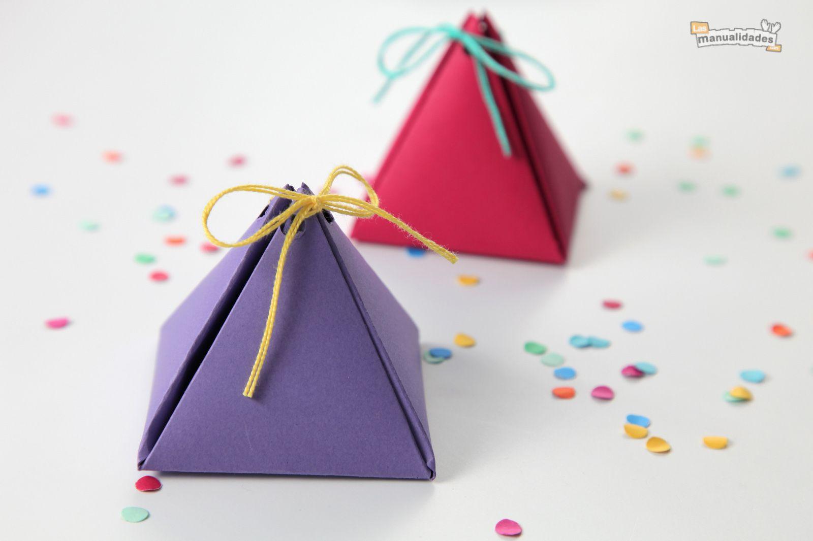 cajas piramide