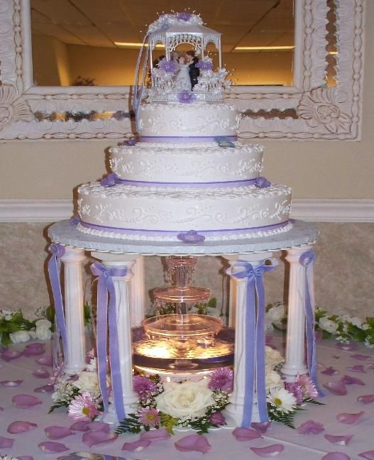 wedding cake water fountain wedding cake wedding cakes cakes 26791