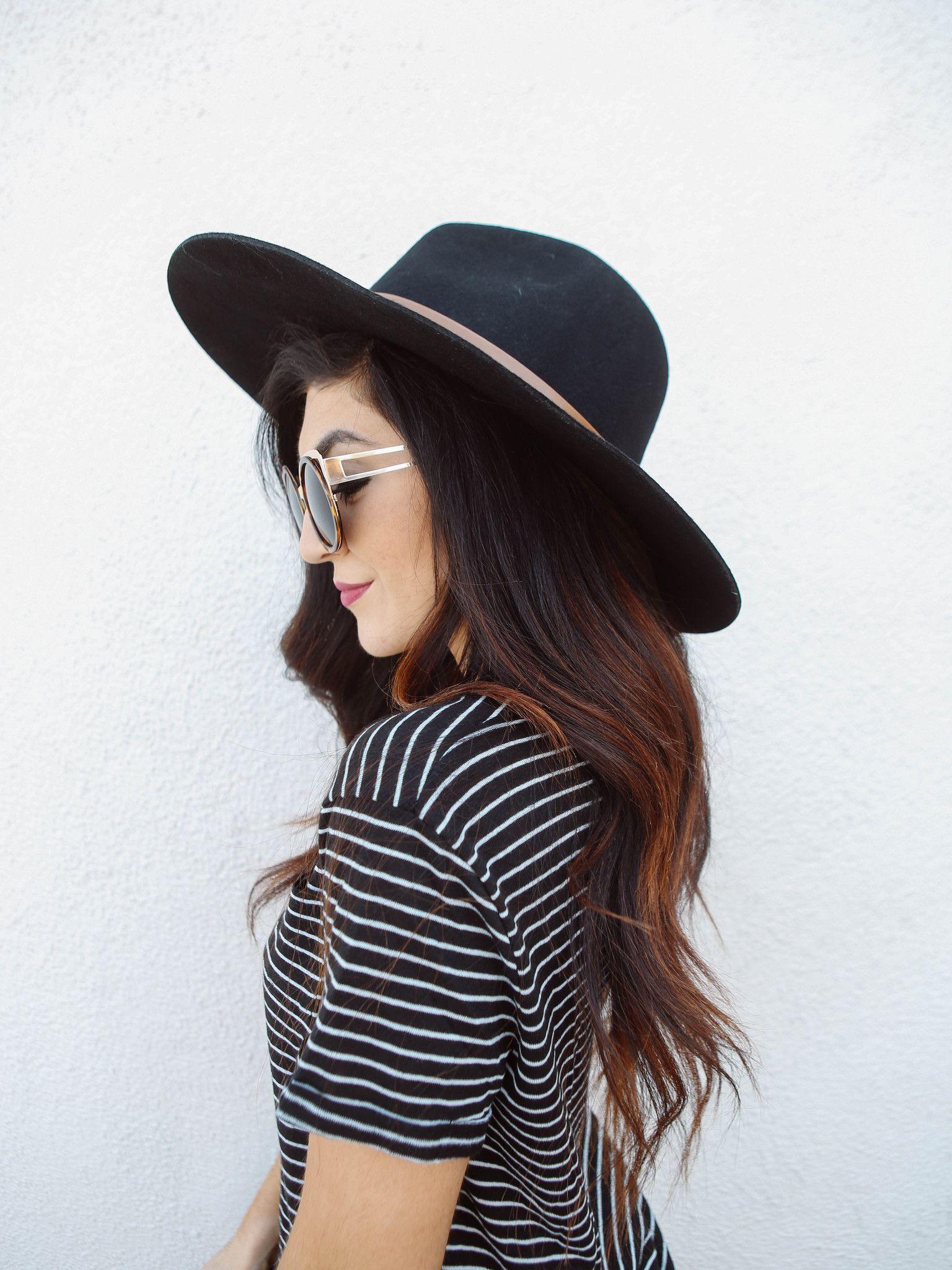 100% Wool  Leather belt  Stiff Brim Wide Brimmed Hats 48334ca8d45