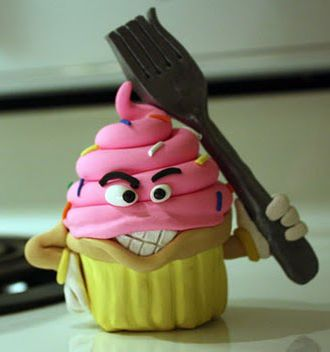 Crazy Cupcakes Angry Gang War Cupcakes All Things