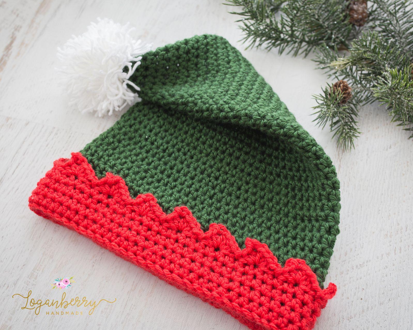 Crochet Elf Hat Free Crochet Pattern Crochet Elf Hat Pattern