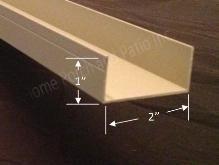 Aluminum Screen Room Materials 1x2 U Channel Porch Kits Aluminum Screen Screen Enclosures