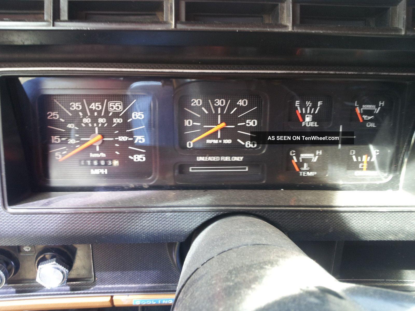 1980 ford bronco interior 1980 Ford Bronco. 390 Big
